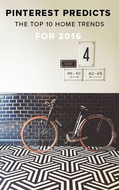 pinterest predicts the top 10 home trends for 2016 - Matchstick Tile Castle 2016