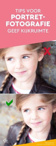 Fotografie tips portret: geef de persoon voor de camera ook kijkruimte. Uiteraard werkt dit bij kinderfotografie ook zo. #portretfotografie