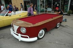 pool table on the go
