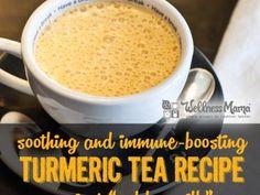 Soothing and Immune Boosting Turmeric Tea Recipe - Golden Milk Recipe