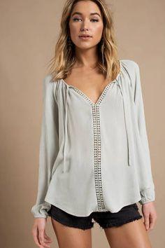 69efa66081e25 34 en iyi mint blouse görüntüsü, 2014 | Fashion, Mint blouse ve Style