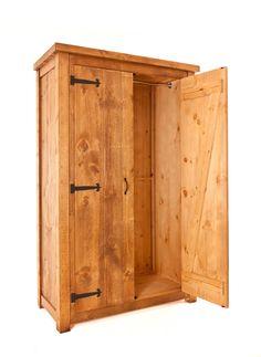 Delicieux Rustic Plank, British Made, Wardrobe.