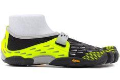 Vibram Fivefingers SeeYa - Men's Running Shoe (42 M EU, Black / Dayglow) - M3684 $99.95