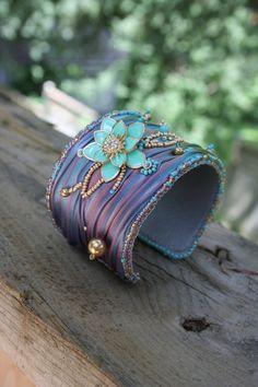 Hey, I found this really awesome Etsy listing at https://www.etsy.com/listing/197087801/beaded-shibori-silk-bracelet