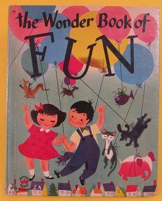 ''THE WONDER BOOK OF FUN'', ill. Delwyn Cunningham, Wonder Books 1951 | eBay