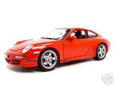 Porsche 911 Carrera S Red 1/18 Diecast Model Car by Maisto