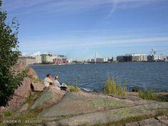 Crusell Bridge from Lauttasaari