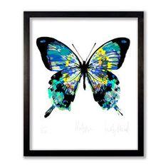 Matisse Butterfly Print - animals & wildlife