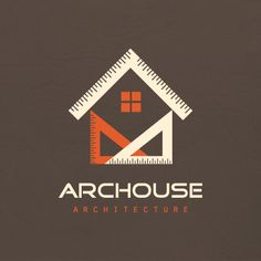 Geometric house architecture | Logo Design Gallery Inspiration | LogoMix                                                                                                                                                                                 More