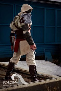 Gorgeously detailed handmade Assassin's Creed Turkish Armor
