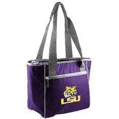 LSU Tigers 16-Can Cooler Tote - Purple