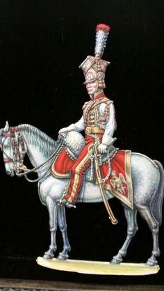 Tromba dei lancieri olandesi della guardia imperiale francese.