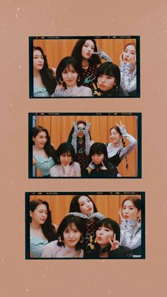 "K-pop MV "" Versión 2 Papier peint . Irene Red Velvet, Wendy Red Velvet, Red Velvet Joy, Velvet Style, Wallpaper Rosa, Velvet Wallpaper, Iphone Wallpaper, Wallpaper Quotes, Seulgi"