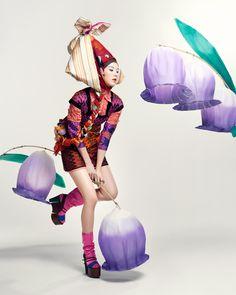 Korean Culture Fashion- Appreciate the Hanbok — Tiding of Spring - Vogue Girl Korea April Fashion Shoot, Fashion Art, Editorial Fashion, Fashion Models, Kids Fashion, Traditional Fashion, Traditional Outfits, Korean Design, Girl Korea
