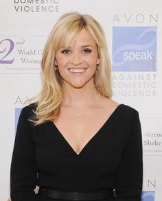 Reese Witherspoon Long Straight Cut with Bangs - Reese Witherspoon Long Hairstyles - StyleBistro