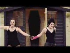 """Irn-Bru """"Here comes the summer"""" #Goth commercial having fun at the beach."""
