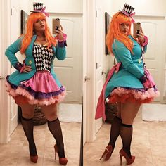 Need Ideas? 20 Plus Size Social Media Rock Stars Killing Halloween 2016! http://thecurvyfashionista.com/2016/10/plus-size-halloween/