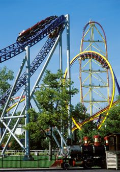 amusement park pictures | ... has more roller coasters than any other amusement park in the world