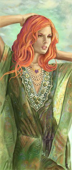 Lady by *FreyjaSig on deviantART