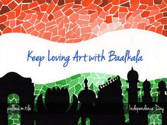 Celebrating #independence day #india... Keep Loving ART ... :)  Happy Independence Day