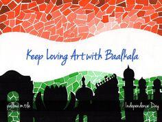 Celebrating #independence day #india... Keep Loving ART ... :)  Happy Independence Day