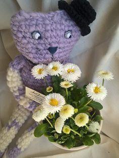 ArtJonKa: Fioletowy kot Filip i podsumowanie kwietnia :))