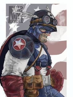 Captain America 2011 by CuddleswithCats on DeviantArt