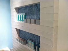 Backsplash tiles  7.5 x 30 cm  Brugman badkamer - Amsterdam