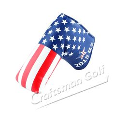 ee1d1cd587e USA Flag Stars and Stripes Golf Putter Head Cover