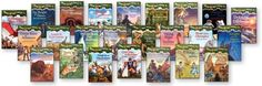 The Magic Tree House Book Series by Mary Pope Osbourne