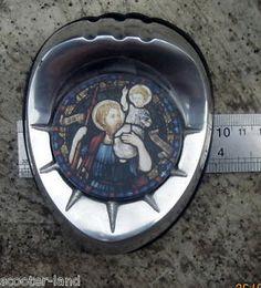 St CHRISTOPHER CAR BADGE VESPA LAMBRETTA ULMA GS SS 160 180 90 SX200 VIGANO
