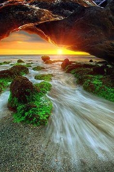 The Bali Cave by Agoes Antara