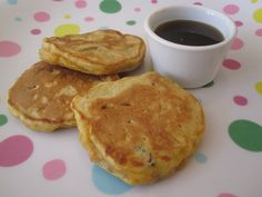 Carrot pancakes!! Maybe with a cream cheese topping? It would be like having carrot cake for breakfast!