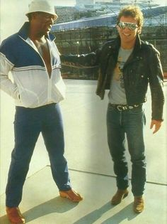 Bruce Springsteen and Clarence Clemmons