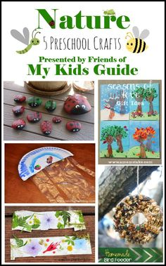 5 Awesome Nature Preschool Crafts for Kids | MyKidsGuide.com