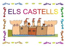 El castell i les seues parts by Pili Cano García via slideshare Family Guy, War, School, Teachers, Report Cards, Princesses, Guns