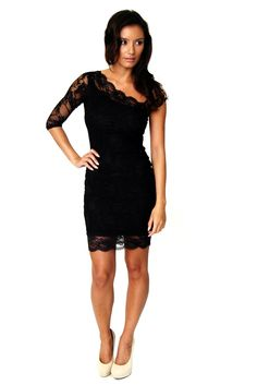 Lace One Shoulder Bodycon Dress