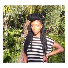 Black hair trend: Senegalese twists