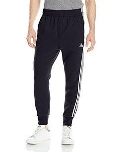 adidas Performance Men's Slim 3 Stripes SweatPants