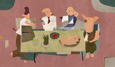 pigs dinner