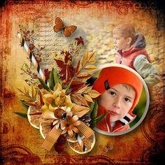 "Kit "" Autumn Dreamer "" by Angel´s Design Photos by Sandra http://www.oscraps.com/shop/Guest-Angels-Designs"