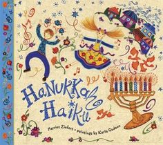 Hanukkah Haiku by Harriet Ziefert, Karla Gudeon (Illustrator)  http://www.bookscrolling.com/the-28-best-hanukkah-books/ #besthanukkahbooks #bookscrolling