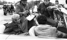 """Francis Ford Coppola with Matt Dillon on """"The Outsiders"""""""