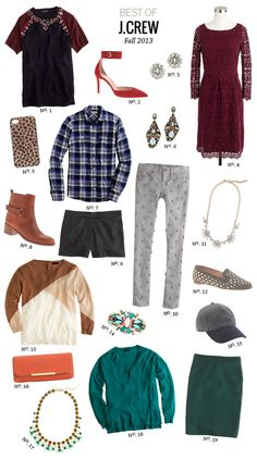 // Best Of: J.Crew Fall 2013 by Modern Eve