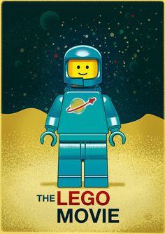 The LEGO Movie Alternative Vintage Poster by Wes Talbott After his Zelda project hit the 10,000 on CUUSOO I went to check out Wes Talbott...