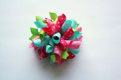 Some of My New Creations! Korker Hair Clippies Set/HandMade Hair Accessories/Toddler/Infant/NewBorn $5.99