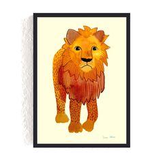 Print *Löwe* #löwe #lion #afrika