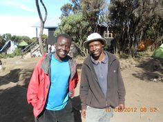 Day 8 - Our guides that made it all possible. Marcu on the left and Guadence on the right...
