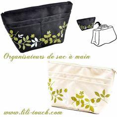 Organisateur de sac à main nature www.lili-touch.com