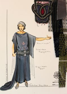 Dreams of Valentino (Natacha). Costume design by KÄrin Simonson Kopischke. Drama Stage, Costume Design Sketch, Purple Velvet Dress, Theatre Costumes, Day Dresses, Valentino, Shirt Dress, Times, Minnesota
